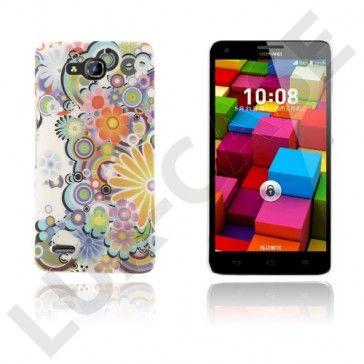 Persson Huawei Ascend G750 Kova Suojakuori – Värikkäät Perhoset