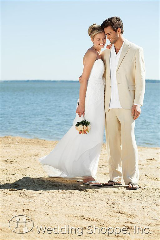 Jim S Formal Wear Men Wedding Suits Tan Riviera Linen Two On Suit Jacket N25 Groom Attire Pinterest And