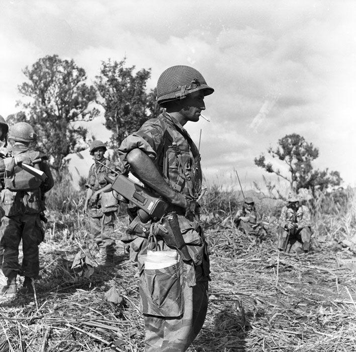 Opération «Pollux» : reconnaissance effectuée par le GAP 2 au nord de Diên Biên Phu. - ECPAD
