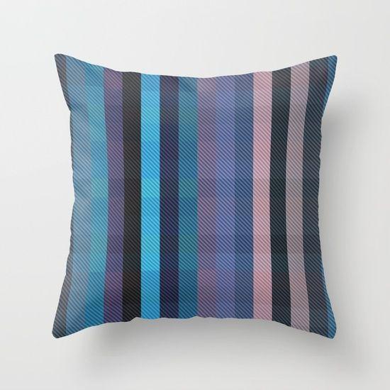 cold sea Throw Pillow