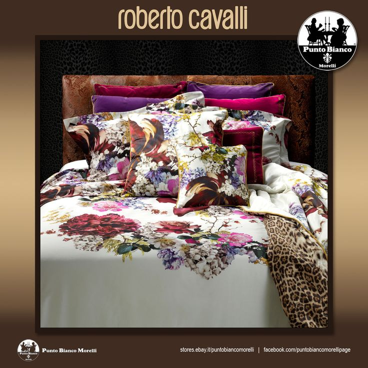 ROBERTO CAVALLI | FLORIS Completo copripiumino - Full duvet cover