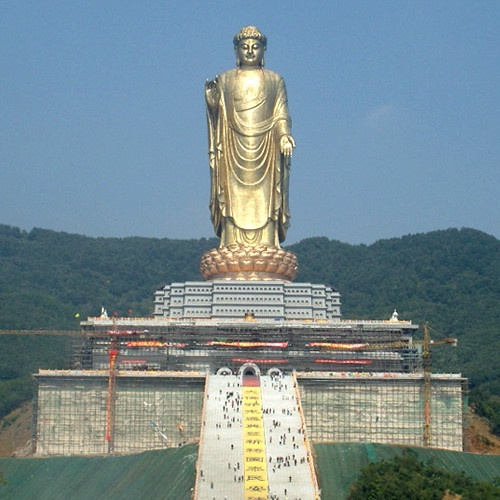 biggest buddha statue the temple buddha located in henan china is the 10105