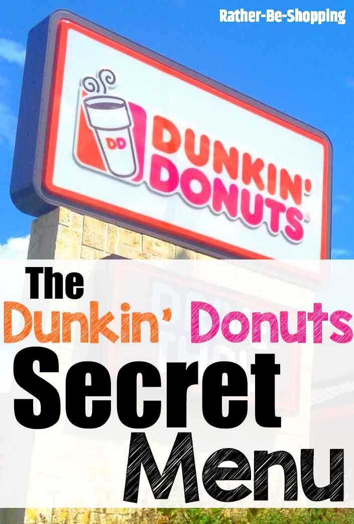 Dunkin' Donuts Secret Menu: Get Your Dunk On