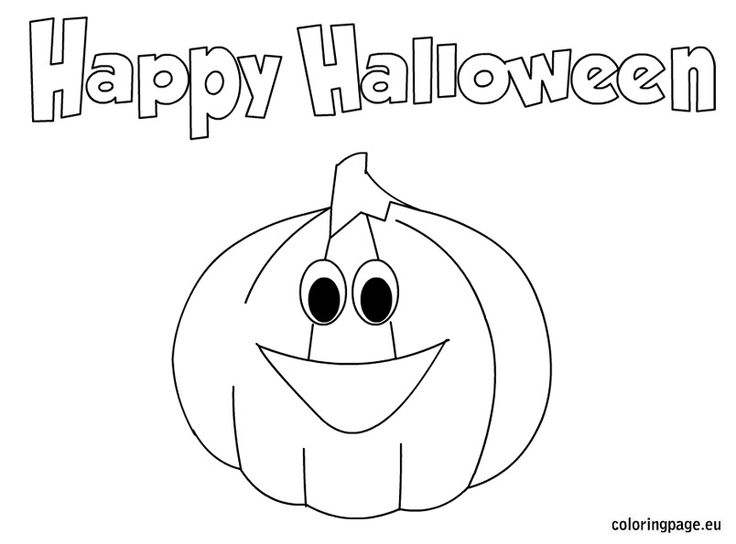 34 best images about Halloween on Pinterest  Coloring pages