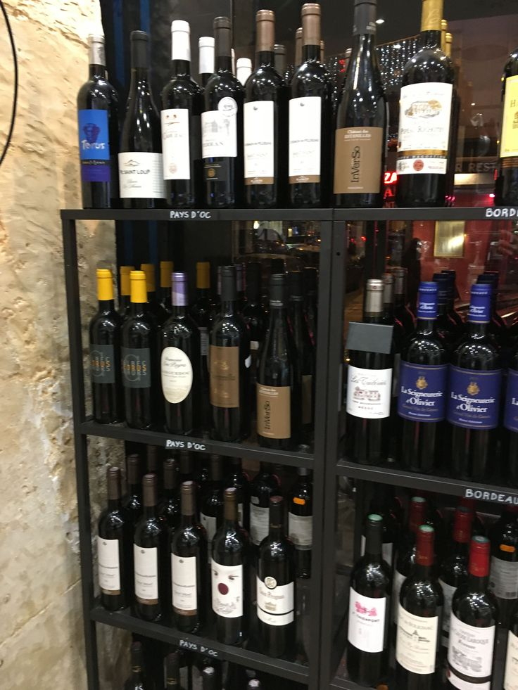 A nightly liquor store in Paris appreciated by anyone