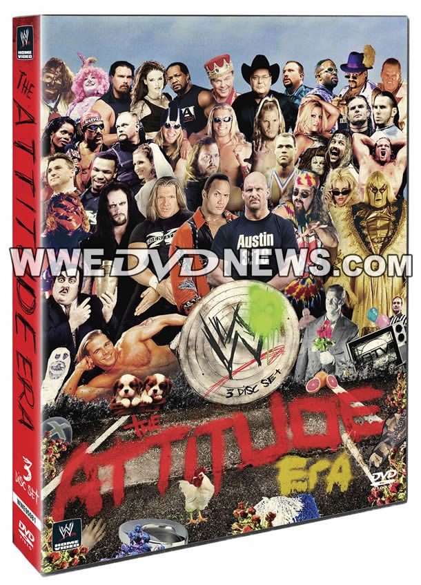 The Attitude Era - WWE DVD