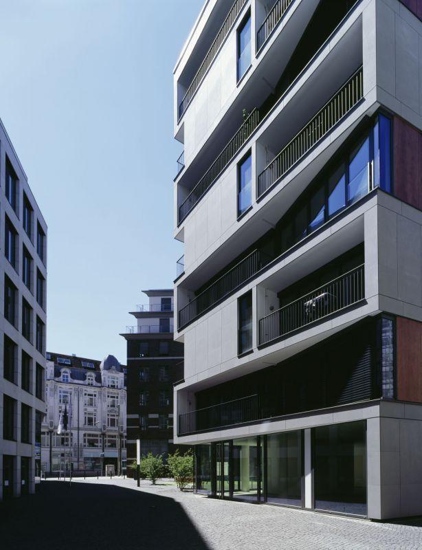 WOHNEN IM BRAHMSQUARTIER | CARSTEN ROTH ARCHITEKT