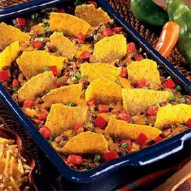 Taco Casserole, although it says to use Ortega taco seasoning, I was told there was a seperate GF taco seasoning to use.  I will look into it.