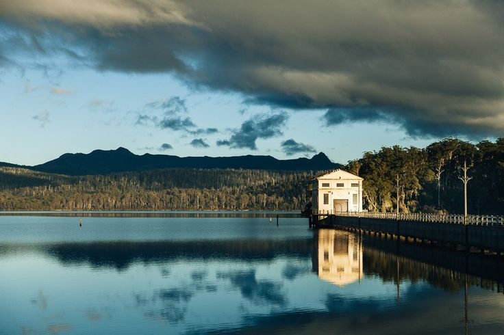 Australian Hotel in the Middle of a Lake - Pumphouse Point Lake Hotel - If you need an getaway, you can't get any further away than a hotel in the middle of a lake on an island off the coast of Australia. And while it might be a schlep, this pristine locale looks like it might be worth it. Twenty years after this pump house shut down, it's been revived with an awesome new purpose: Housing visitors to one of Tasmania's most secluded national parks. Pumphouse Point is a luxury hotel located…