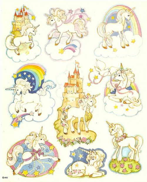 Unicorn Fantasy Stickers