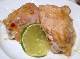 Call Me Mrs. Rapp: Baked Chicken with Dijon & Lime