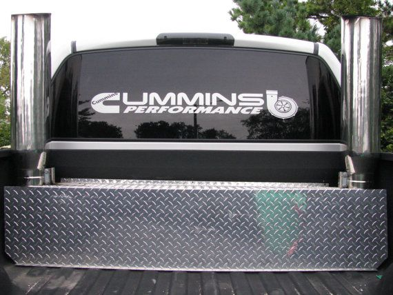 Large Custom made CUMMINS Performance decal for by GraphicsDepot
