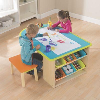 1000 ideas about kids art table on pinterest kids craft tables kids art corner and desks for. Black Bedroom Furniture Sets. Home Design Ideas