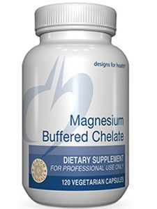 Magnesium Glycine Chelate 120ct by Designs for Health
