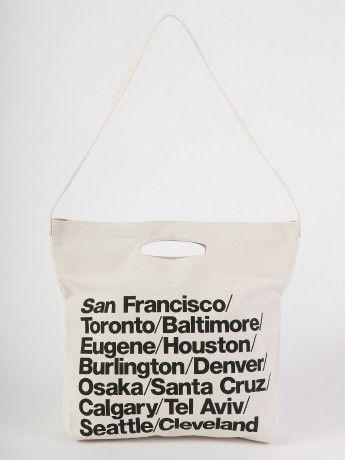 ブルデニムウォーバンシティストラップバッグ | Shop American Apparel