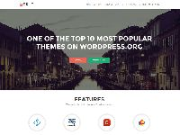 Zerif Lite is a free one page WordPress theme as its perfect for web agency business, corporate business, personal and parallax business portfolio, photography sites and freelancer. Is built on BootStrap with parallax...