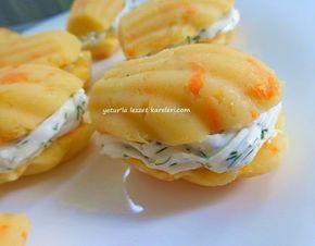 sayfamda daha önce paylaştığım nergisleme  ve pasta şeklinde patates salatamı  baz alarak istiridye şeklinde çay sofraları için ve et y...