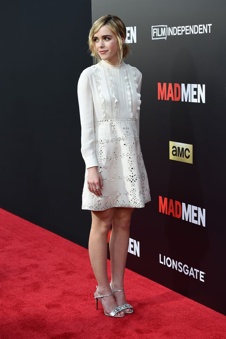 Actress Kiernan Shipka at the LACMA special screening of the final 'Mad Men' episode in Los Angeles | Harper's Bazaar