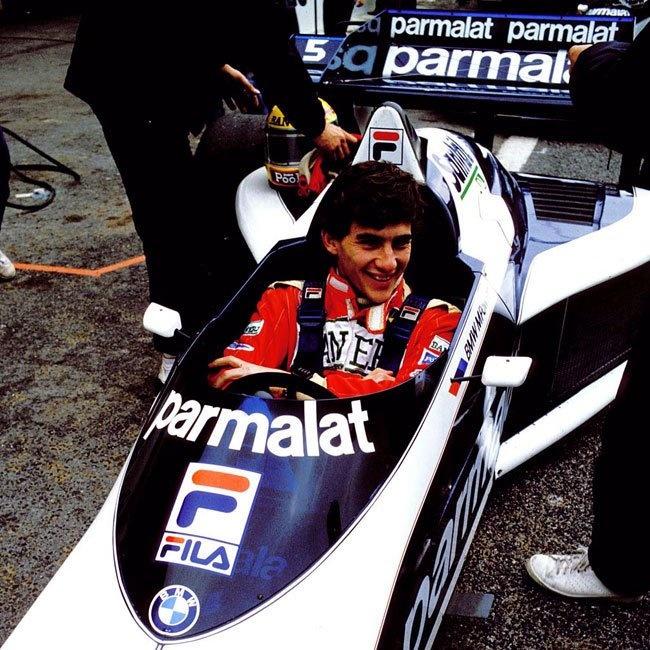 Ayrton Senna testing for Brabham at Paul Ricard.