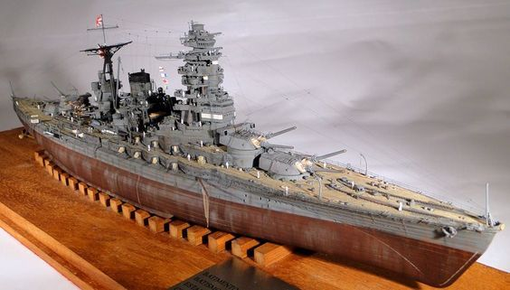 Hasegawa Mutsu - November 2015 - FineScale Modeler - Essential magazine for scale model builders, model kit reviews, how-to scale modeling, and scale modeling products