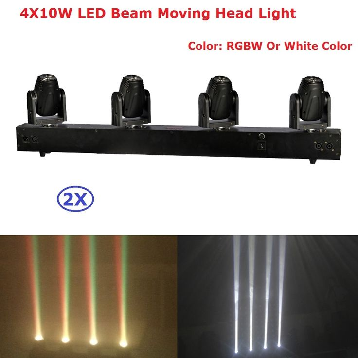 540.00$  Watch here - http://alildc.shopchina.info/1/go.php?t=32820163184 -  Cheap Price 2Pcs/Lot Mini LED Moving Head Bar Beam Light 4X10W RGBW 4IN1 LED Disco Light Dj Lighting Beam Moving Head Lights  #magazineonlinewebsite