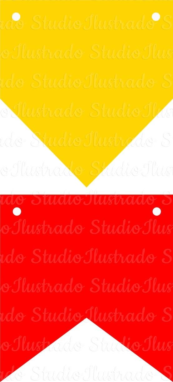 View Design: flags and banners party in june, bandeirinhas de festa junina, silhouette