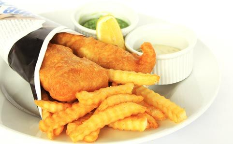 Fish and Chips at Bondi Beach. Its good to live here :) Mongers - Bondi - Restaurants - Time Out Sydney