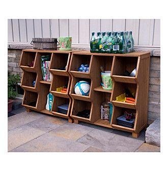 Nice Merry Productsu0026trade; Outdoor Storage Cubby
