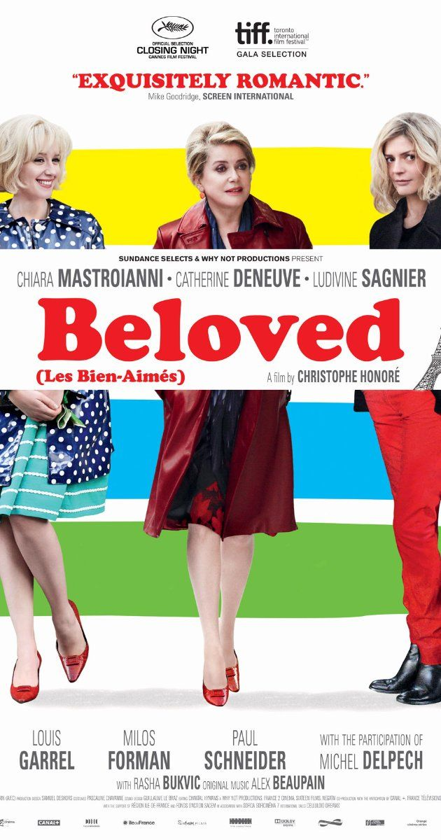 Directed by Christophe Honoré.  With Catherine Deneuve, Ludivine Sagnier, Chiara Mastroianni, Paul Schneider. In London, a mother and daughter navigate their respective romances: Madeline rekindles an affair from thirty years earlier, while her daughter Vera is caught between a musician who cannot commit and her ex, who still pines for her.