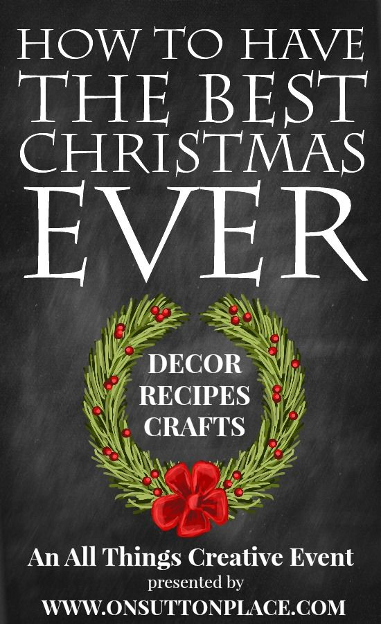 All Things Christmas | 10 Bloggers bring you 100 DIY Ideas for Christmas Decor, Crafts and Recipes