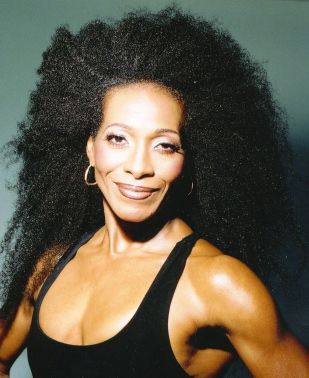 Stephanie Suthers, age 58, founder of Hairobics. I