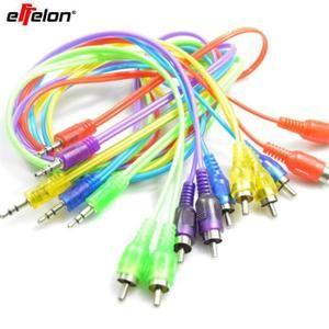 Effelon Jack Adaptateur de câble audio RCA de 3,5 mm à 2 câble mâle à mâle pour iPod Mp3 Mp4 Player Téléphone portable