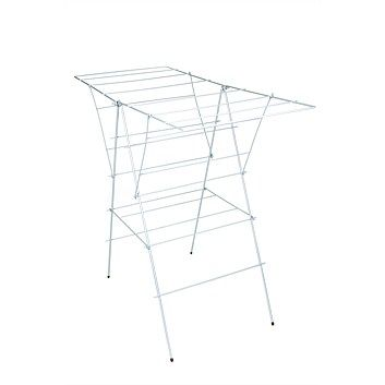 Clothes Airers - Laundry Products - Briscoes - White Polycoated Wire A Frame Airer