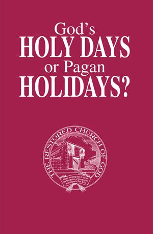 God s holy days or pagan holidays