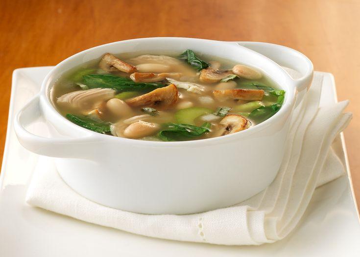 Рецепт грибного супа из сушеных и свежих грибов вместе