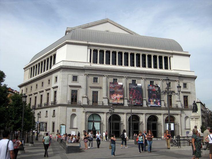 Teatro Real. Madrid, Spain.
