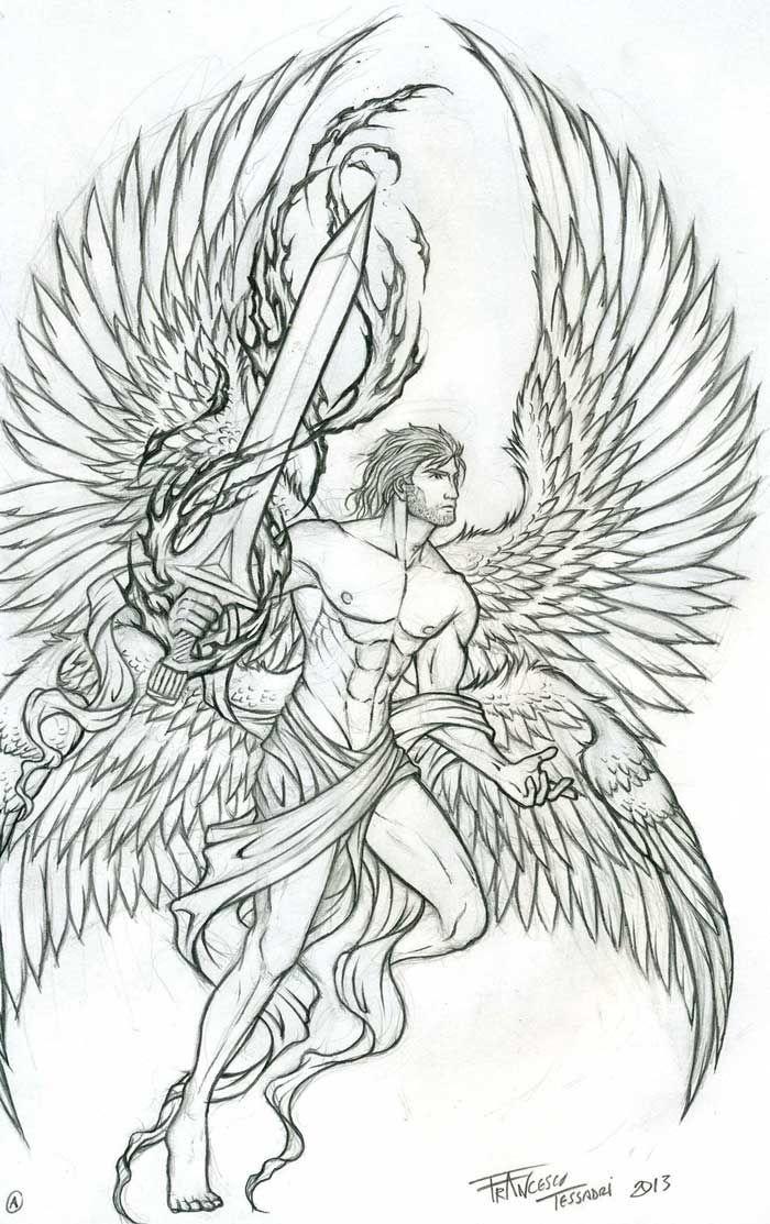 Archangel Tattoo Google Search St Michael Tattoos