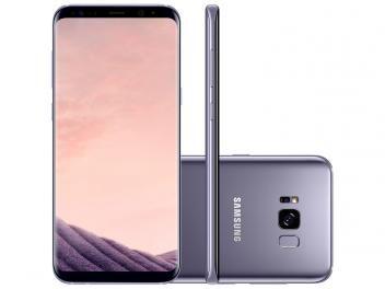 """Smartphone Samsung Galaxy S8+ 64GB Ametista - Dual Chip 4G Câm. 12MP + Selfie 8MP Tela 6.2"""" R$ 4.399,00 em até 10x de R$ 439,90 sem juros no cartão de crédito"""