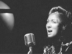 """Uraufführung: """"Blue Moon"""" - Eine Hommage an Billie Holiday von Torsten Fischer und Herbert Schäfer, Theater in der Josefstadt Wien"""