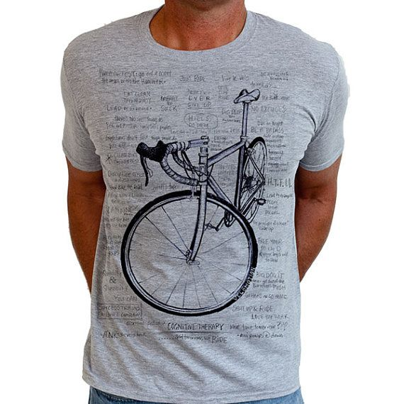 Cognitive Therapy - Men's Cycling T Shirt Gifts For Cyclists