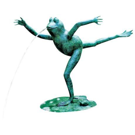 Arabesque Frog Pond Spitter Fountain - #34978 | LampsPlus.com