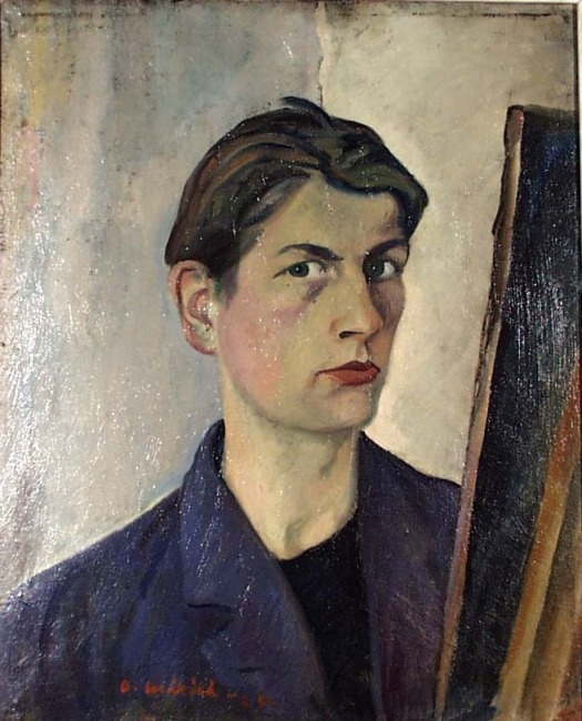 Otto Mäkilä: Self-portrait, 1926.