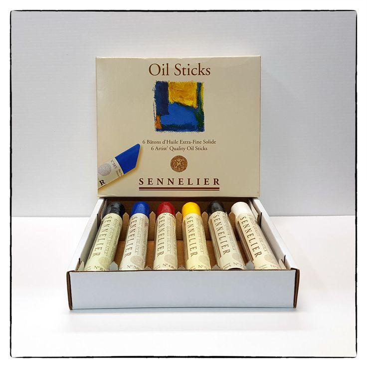 Sennelier Oil Sticks.  #sennelier #oilpainting