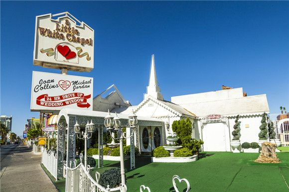 A Little White Chapel - 15 Best Place to Get Married in Vegas - EverAfterGuide