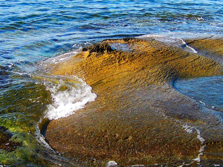 Ocean meets sandstone, Gabriola