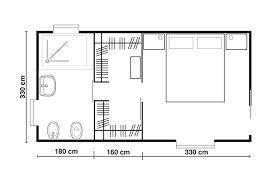 Resultado de imagen para misure minime per cabina armadio