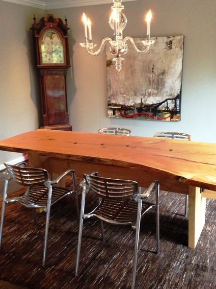 Unique Salvaged Dining Table