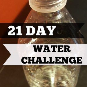 21 Day Water Challange