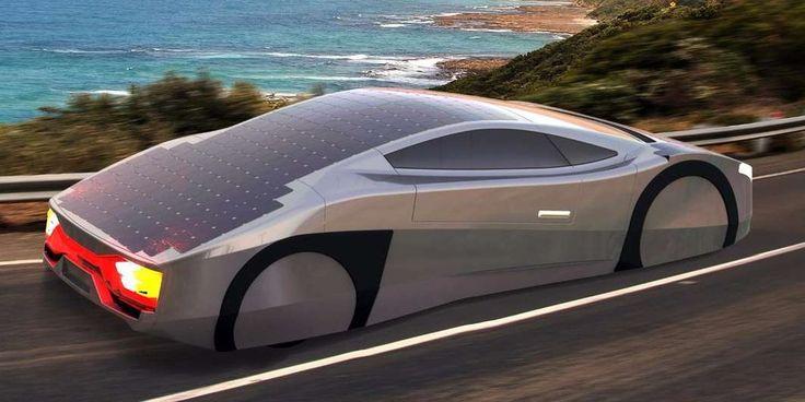 Солнечный спортивный автомобиль Immortus предлагает неограниченный диапазон в солнечные дни