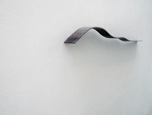 horizon, sculpture in metal,  by artist Thaddäus Salcher